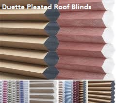 Duette Pleated Roof Blinds